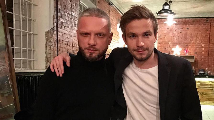 Александр Шаляпин и актер Александр Петров