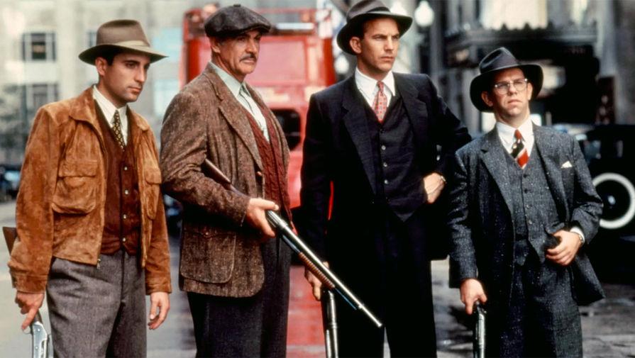Кадр из фильма «Неприкасаемые» (1987)