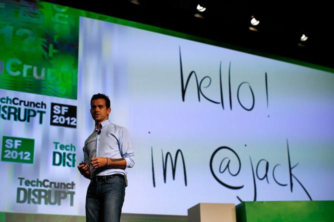 Сооснователь и глава Twitter Джек Дорси, 2012 год