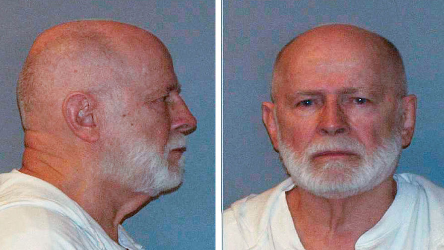 """В тюрьме США убит известный гангстер Джеймс """"Уайти"""" Балджер"""