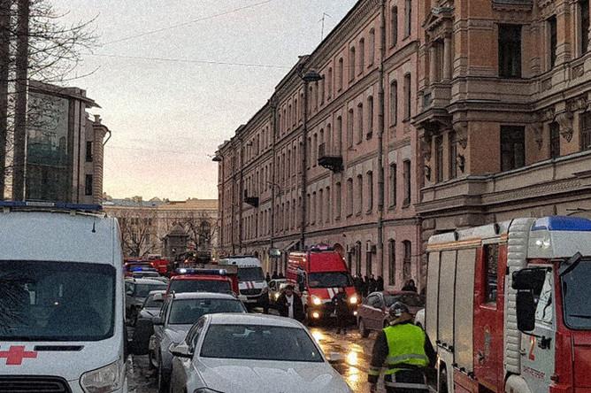 Обрушение в здании ИТМО в Санкт-Петербурге, 16 февраля 2019 года