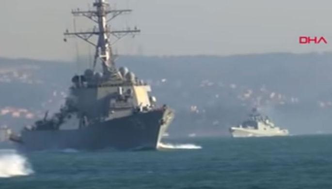Окружили фрегаты: как «Дональд Кук» покидал Черное море