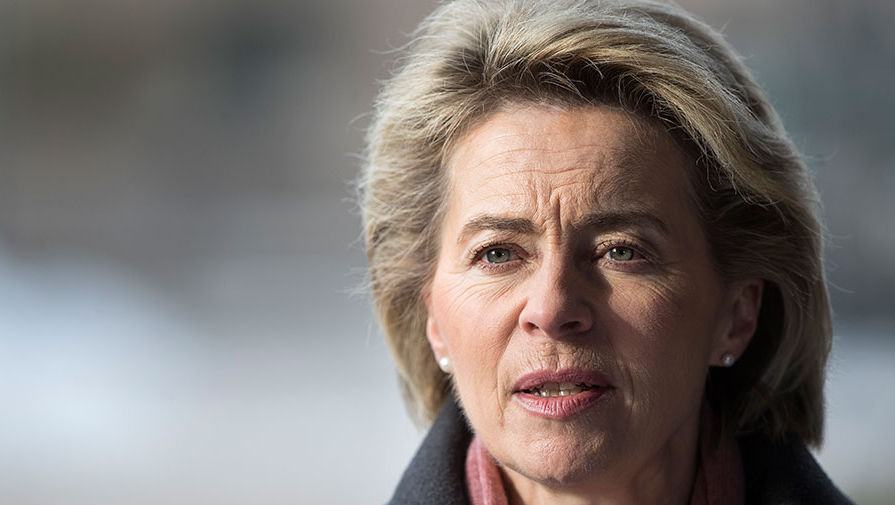 Новая глава Еврокомиссии призвала говорить с Россией с позиции силы