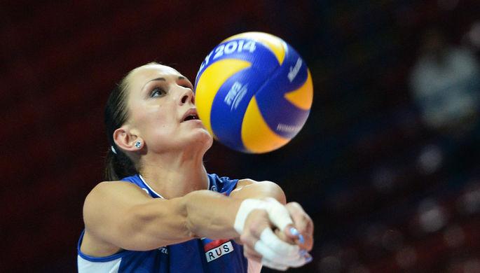 Игрок сборной России Наталия Гончарова