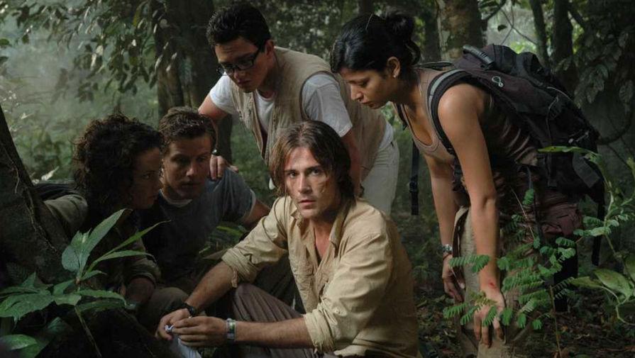 Кадр из фильма «Кровавые джунгли» (2007)