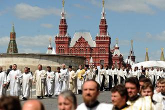 Крестный ход в День славянской письменности и культуры, 2012 год