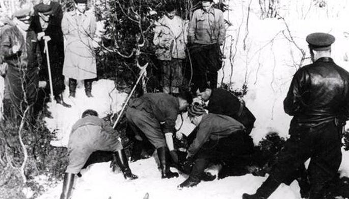 Поисковые работы на месте гибели группы Игоря Дятлова