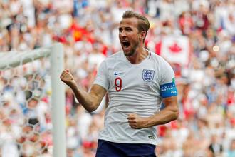 Нападающий сборной Англии и «Тоттенхэм Хотспур» Гарри Кейн.