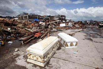 От супертайфуна «Хайян» пострадали 9,5 млн жителей Филиппин