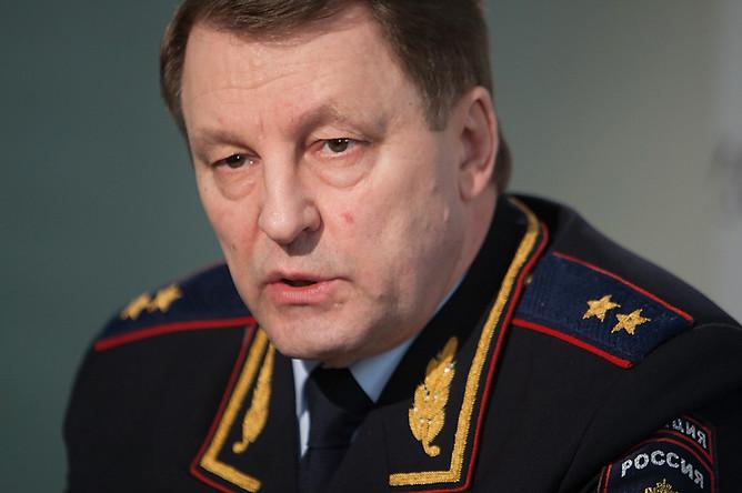 Глава ГИБДД России Виктор Нилов в редакции «Газеты.Ru»