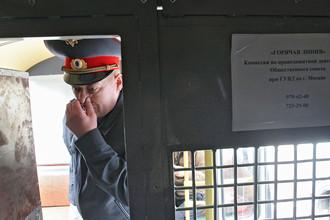 Командир 2-го спецполка ППС полковник милиции Владимир Домашев