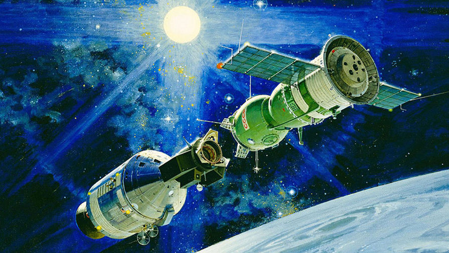 15 июля 1975 года советский космический корабль «Союз» впервые в истории осуществил международную...