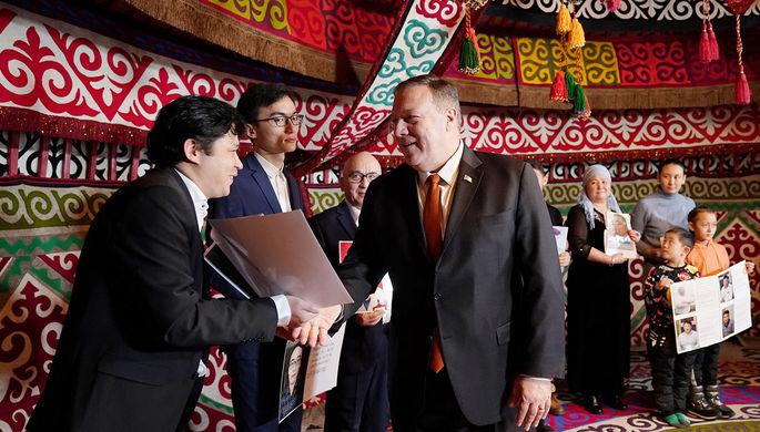 «Свобода выбора»: что Помпео пообещал в Казахстане
