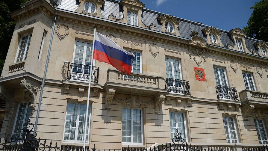 Здание генерального консульства России в Страсбурге