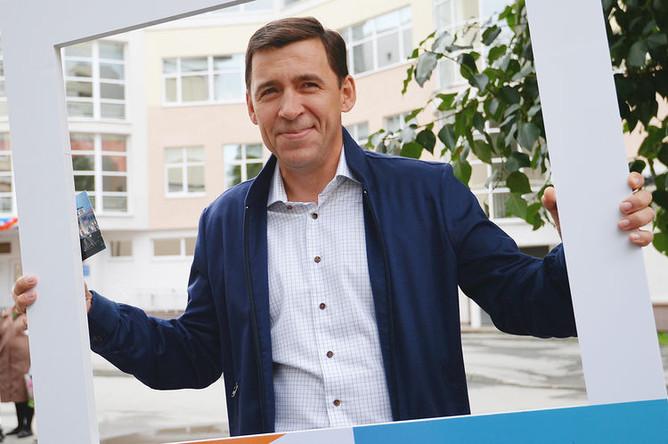 Губернатор Свердловской области Евгений Куйвашев, 9 сентября 2018 года