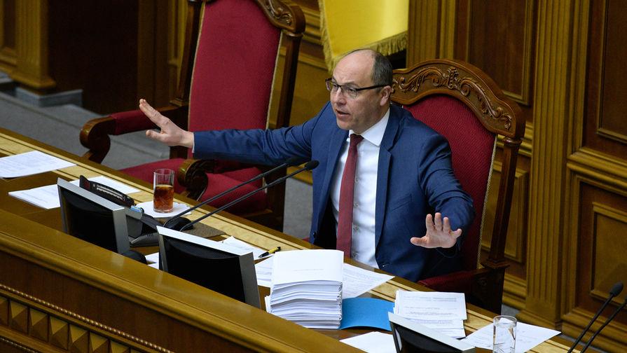 Парубий назвал сроки вступления Украины в ЕС