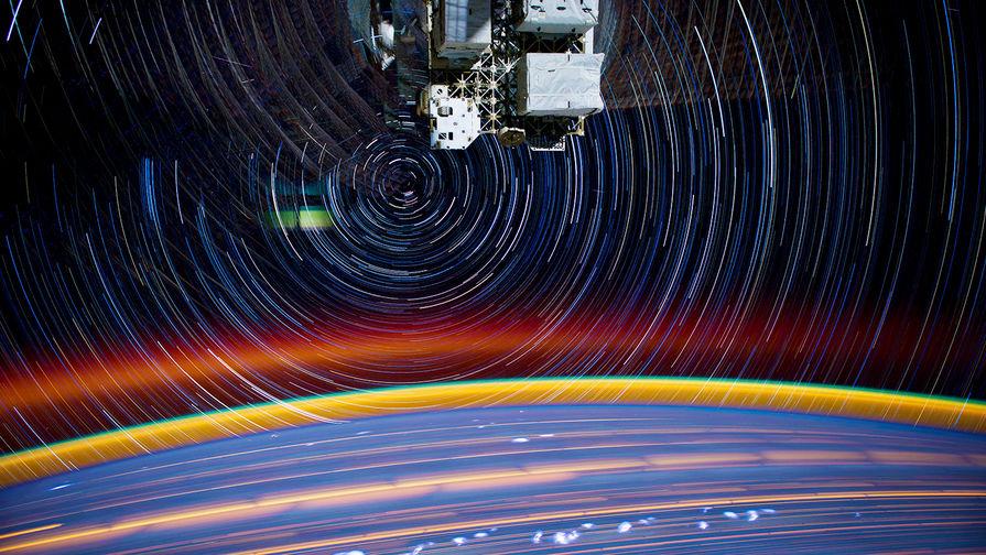 Астронавт NASA заснял с борта МКС разрушение корабля «Прогресс»
