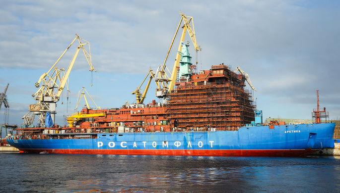 На зависть США: на ледоколе «Арктика» запустили реакторы