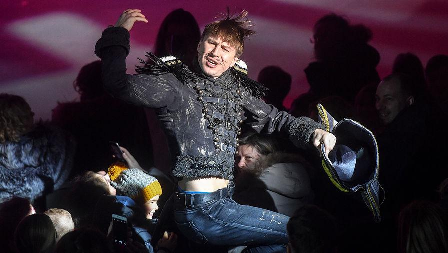 Фигурист, олимпийский чемпион 2002 года, четырехкратный чемпион мира Алексей Ягудин выступает в Новогоднем ледовом шоу «Щелкунчик и мышиный король», 2018 год