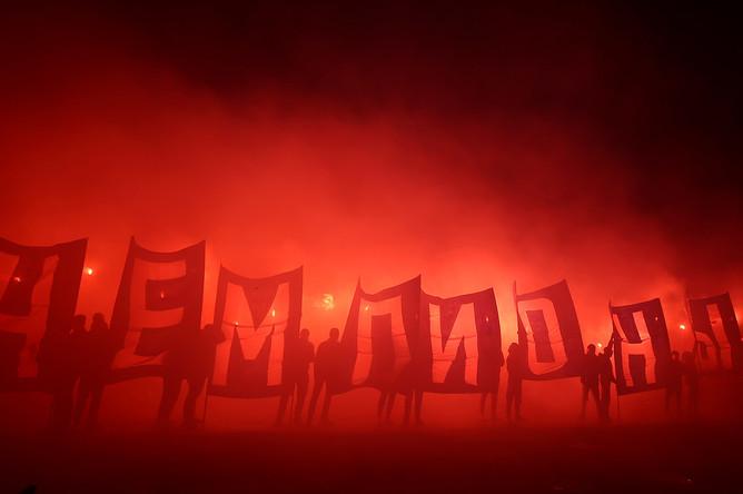Встреча игроков ФК «Зенит» в Петербурге, 6 июля 2020 года