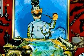 Кадр из мультфильма «Приключения капитана Врунгеля» (1976)