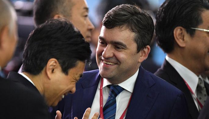 Замминистра экономического развития России Станислав Воскресенский во время экономического форума во Владивостоке, сентябрь 2017 года