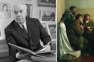 Советский художник Владимир Серов и его картина «Ходоки у Ленина», 1950