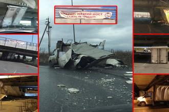 Инциденты с «Газелями» и другими грузовыми автомобилями на Ленсоветской дороге, коллаж «Газеты.Ru»