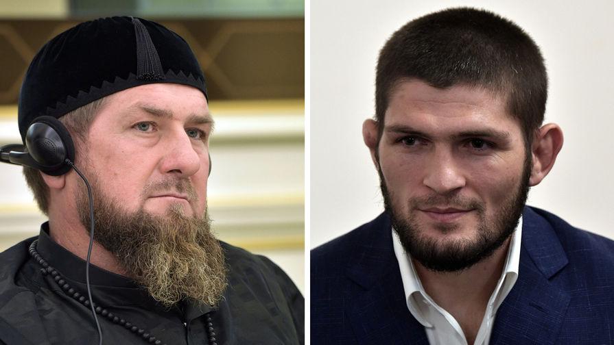 Глава Чечни Кадыров сравнил Хабиба и бойца UFC Чамаева