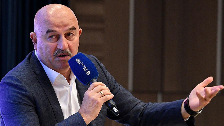 Черчесов рассказал об ожиданиях от матчей России с Кипром и Хорватией