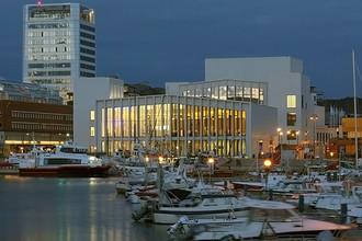Концертный зал Stormen в Будё (Норвегия)