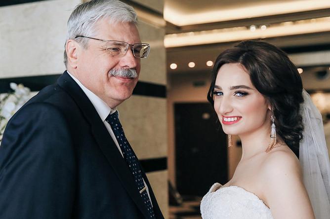 Анастасия Солтан с отцом