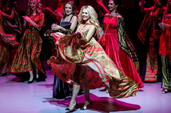 Участницы всероссийского конкурса «Миссис Россия 2018», 18 августа 2018 года