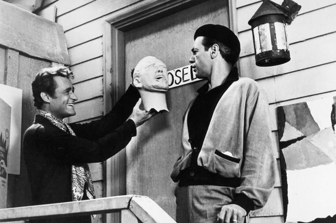 Дик Миллер в фильме «Ведро крови» (1959)