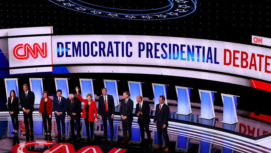 Второй раунд дебатов Демократической партии США - хроника