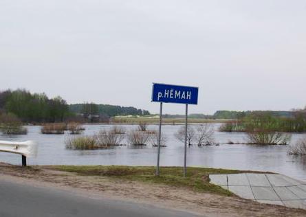 Литва обвинила Минск в заборе воды из Немана