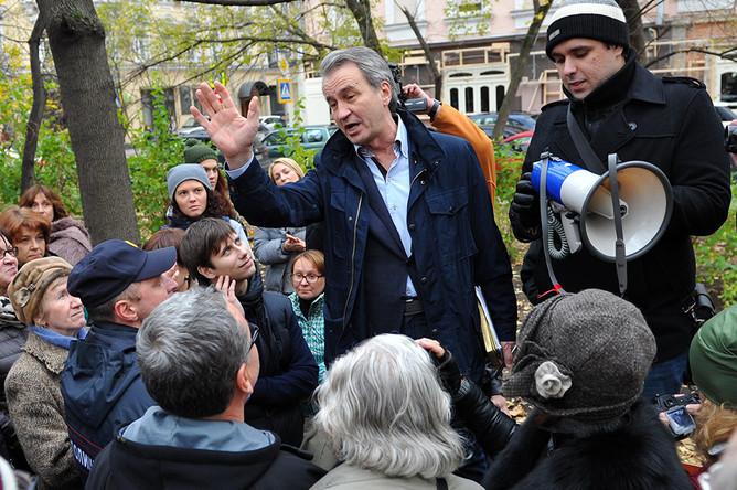 Народный сход в защиту Козихинского переулка прошел в Москве