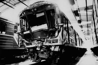 Поезд, пострадавший в аварии 1994 года
