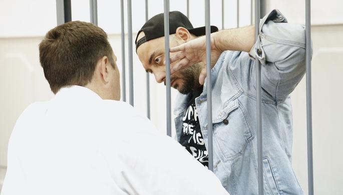 Кирилл Серебренников в Басманном суде, 23 августа 2017 года