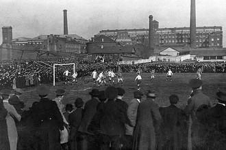Матчи «Санкт-Петербургского кружка любителей спорта» часто проходили при аншлаге