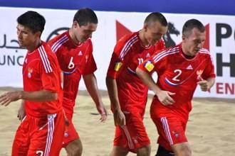Россияне во второй раз обыграли бразильцев
