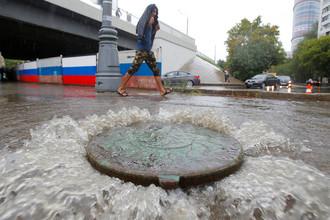 Летний дождь в Москве