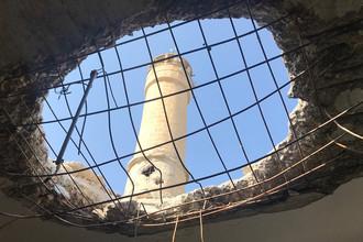 Поселение Джендерес в кантоне Африн на севере Сирии после артобстрела, 7 февраля 2018 года