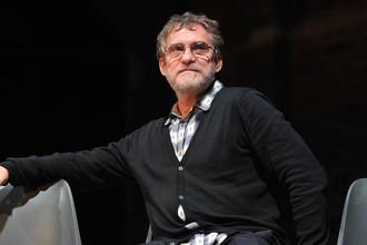 Актер Валерий Гаркалин на презентации второго сезона «Гоголь-центра»