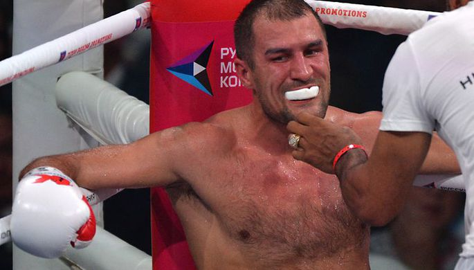 Российский боксер Сергей Ковалев