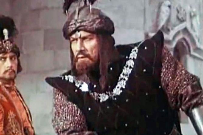 Кадр из фильма «Великий воин Албании Скандербег» (1953). Режиссер Сергей Юткевич. Фильм демонстрировался на Каннском кинофестивале 1954 года и получил специальную премию Высшей технической комиссии за режиссуру