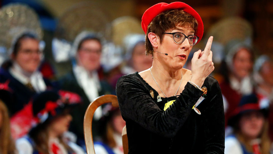 Главу ХДС Аннегрет Крамп-Карренбауэр раскритиковали за шутку