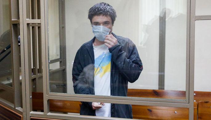 Гражданин Украины Павел Гриб, обвиняемый в призывах к терроризму и склонению к теракту в Сочи через интернет