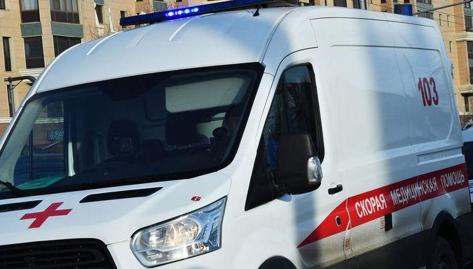 Автобус с пассажирами загорелся в Волгограде