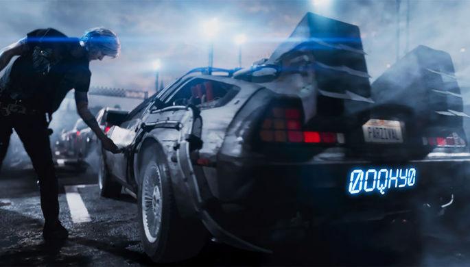 Кадр из фильма «Первому игроку приготовиться»